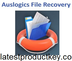 Auslogics File Recovery 9.5.0.1 Crack + Serial Key Free Download 2020